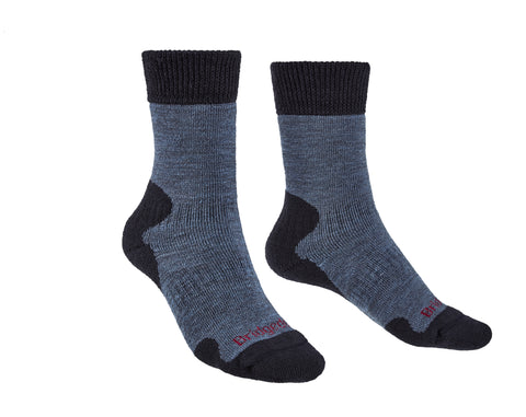 Bridgedale Women's Explorer Heavyweight Merino Comfort Socks Storm