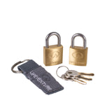 LifeVenture Mini Padlocks (pack of 2)