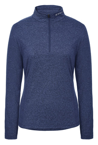 Icepeak Women's Fairview 1/2 Zip Base Layer Blue