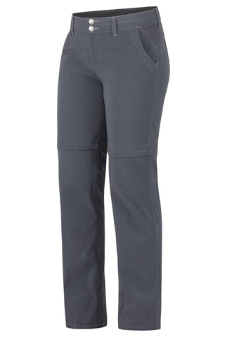 Marmot Women's Kodachrome Convertible Pants Dark Steel