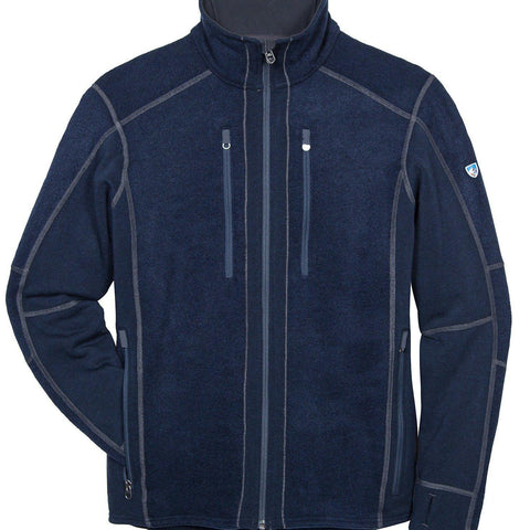 Kuhl Interceptr Full Zip Jacket - Mutiny Blue