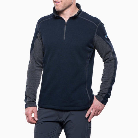 Kuhl Revel 1/4 Zip, Mutiny Blue / Steel