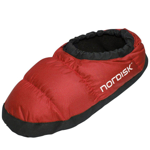 Nordisk Mos Down Shoes - Red