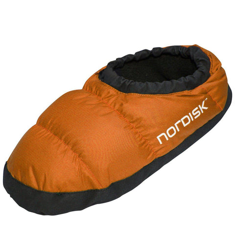 Nordisk Mos Down Slippers - Orange