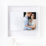 Personalised Wedding Photo Framed Picture
