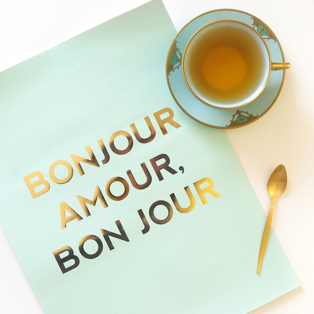 Bonjour Amour Poster