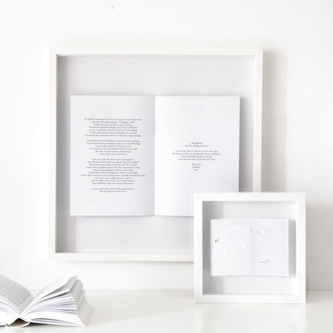 Personalised Poem Framed Picture