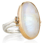MOONSTONE CAB RING