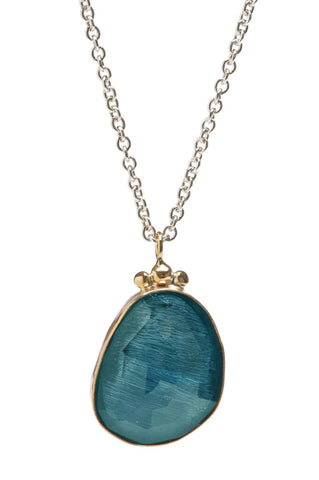 ROSECUT LONDON BLUE TOPAZ NECKLACE
