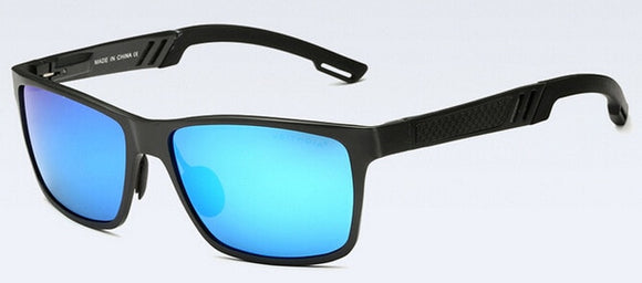 Aluminum Magnesium Men Mirror Polarized Sunglasses - Trighter