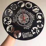 Game of Thrones Vinyl Record Wall Clock - Trighter