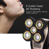 5D Floating Heads Electric Shaver - Trighter