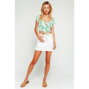 Mint Crop Top New2You LX