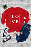 Love all Over Crew-neck