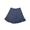 J.Crew Navy White Pinstripe Skirt