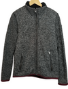 Hollister Grey Thick Knit Sherpa Sweater