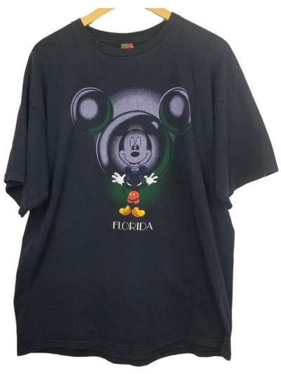 Mickey Mouse Mirror Ball Florida Graphic-Tee'