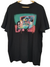 Adventure time Black Graphic Tee