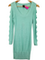 Bebe Mint Sparkle Knit Dress