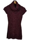 INC Purple Sparkle Cable Knit Dress