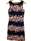 Banana Republic Navy Cherry Blossom Dress