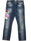 Guess Floral Pencil Skinny Jeans
