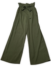 A New Day Olive Casual Tie Waist Pants