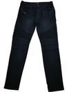 Fashion Nova Black Panel Skinny Jeans