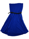 Guess Wild Blue Scrunch Top Dress