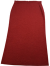 Eileen Fisher Red Knit Skirt