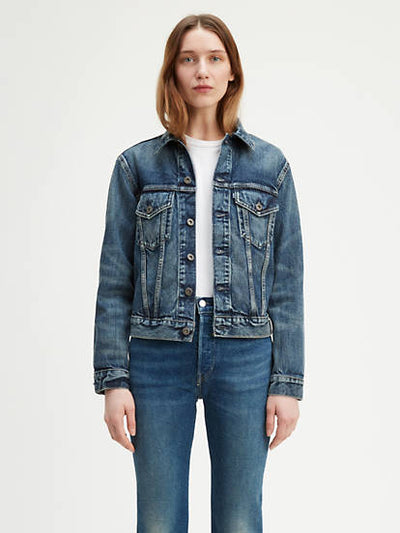 Levi Strauss & Co. Boyfriend Trucker Jacket