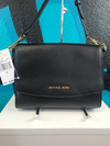 Michael Kors Ellis Black Leather Purse