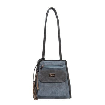 Gina Denim Backpack/Shoulder Handbag (Liz Soto Handbags) - New2Youlx