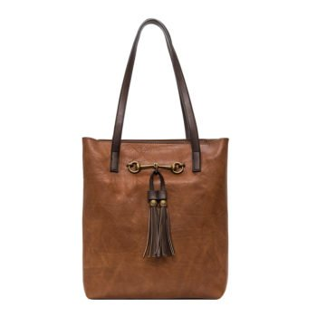 Jane Brown horse bit tote