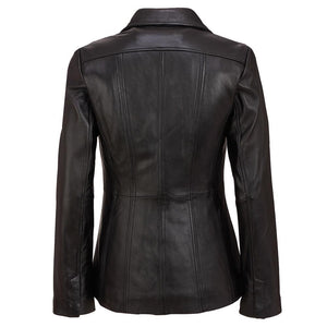 Black Leather Jacket (Wilson Leather) - New2You Lx