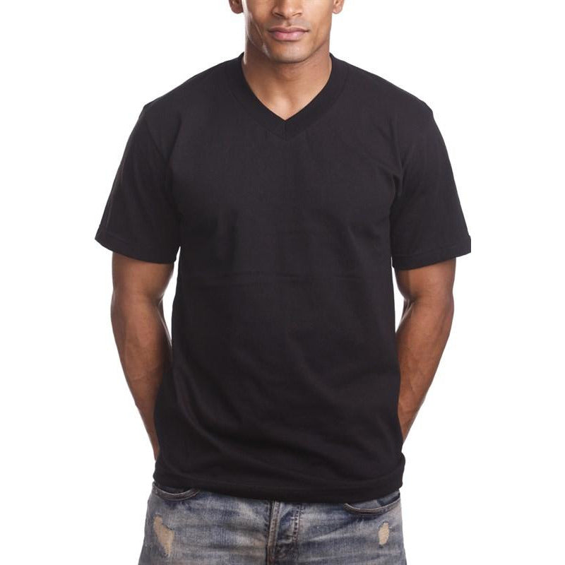 V Neck Short Sleeve Color Shirts (Pro 5) - New2Youlx