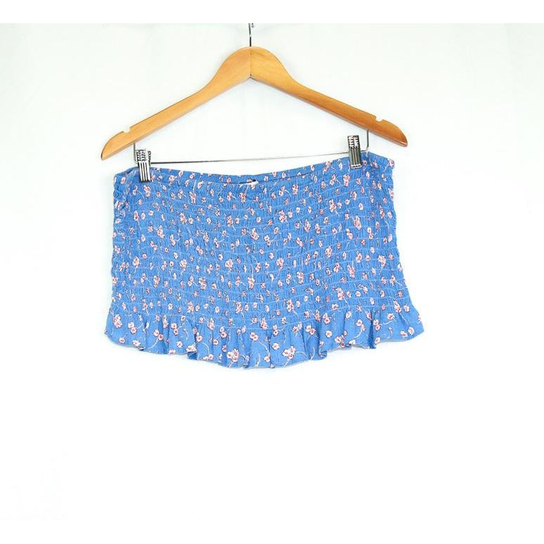 Blue Floral Crop Top - New2You Lx