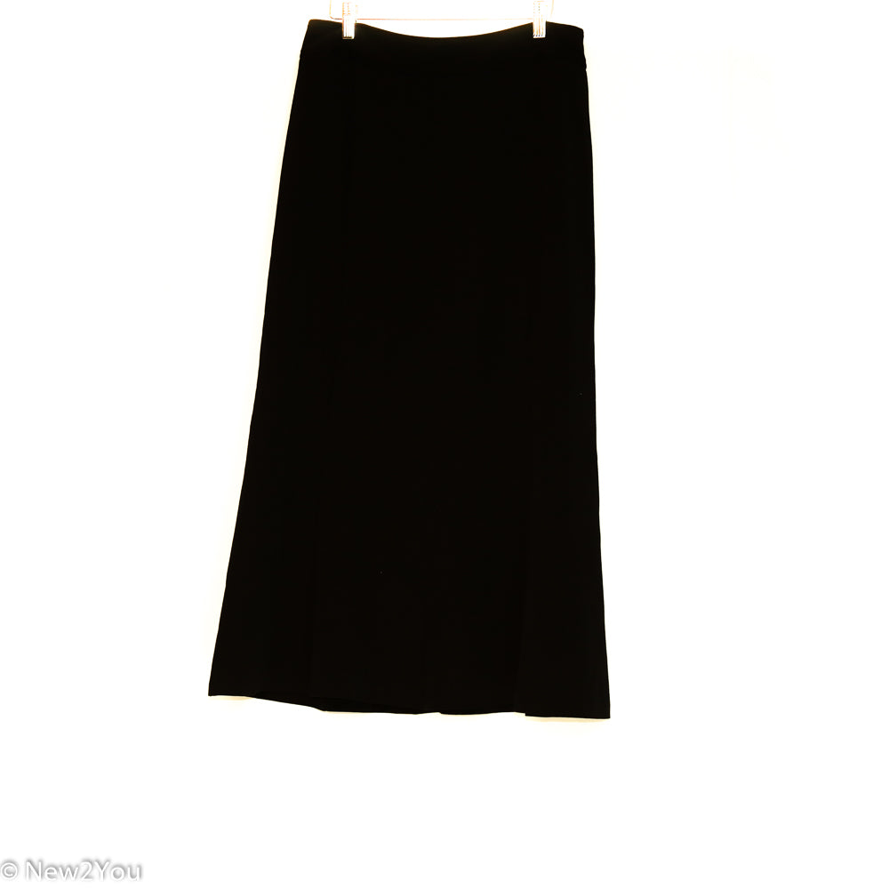 Long Black Business Skirt (East 5th)