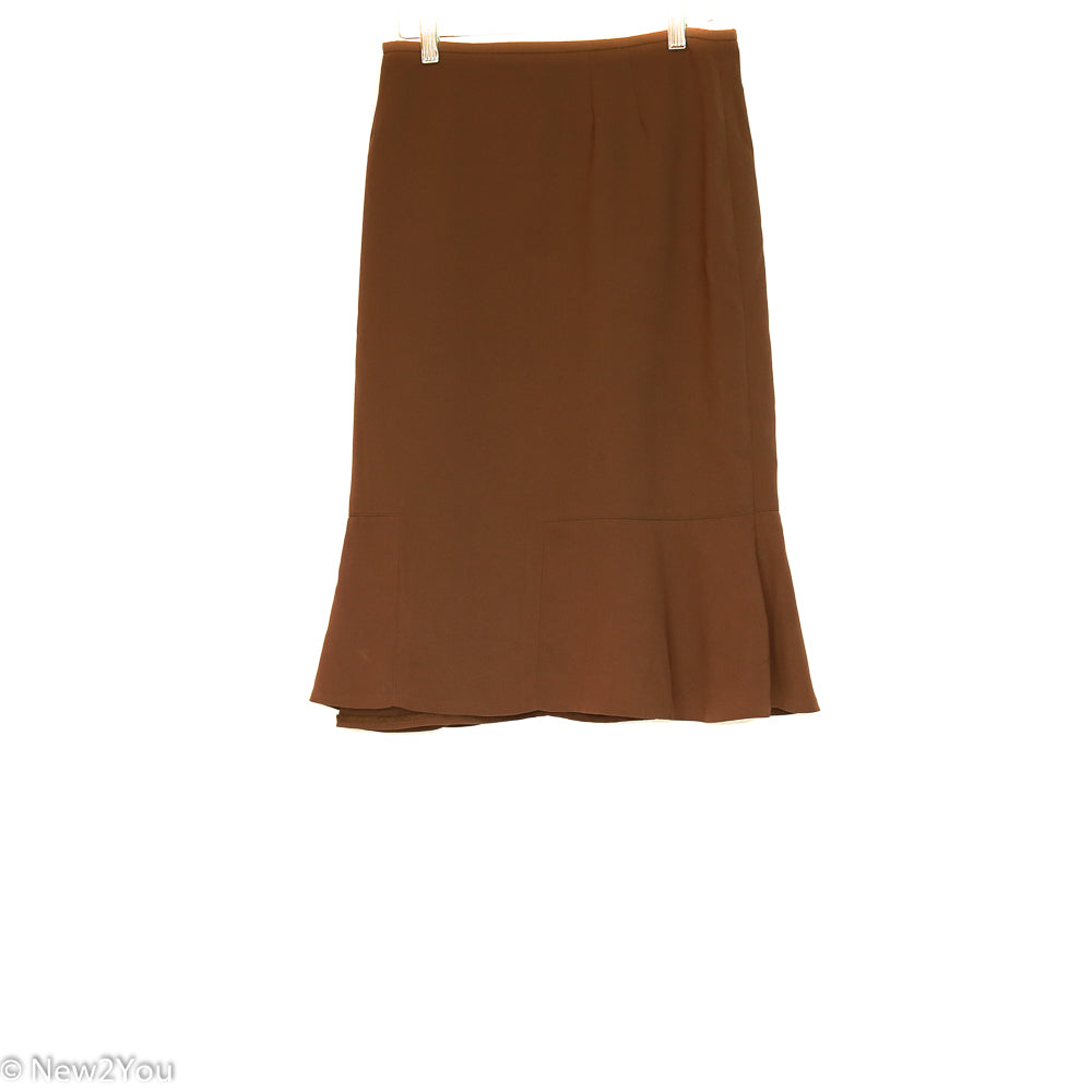 Brown Work Skirt (Le Suit) - New2You LX