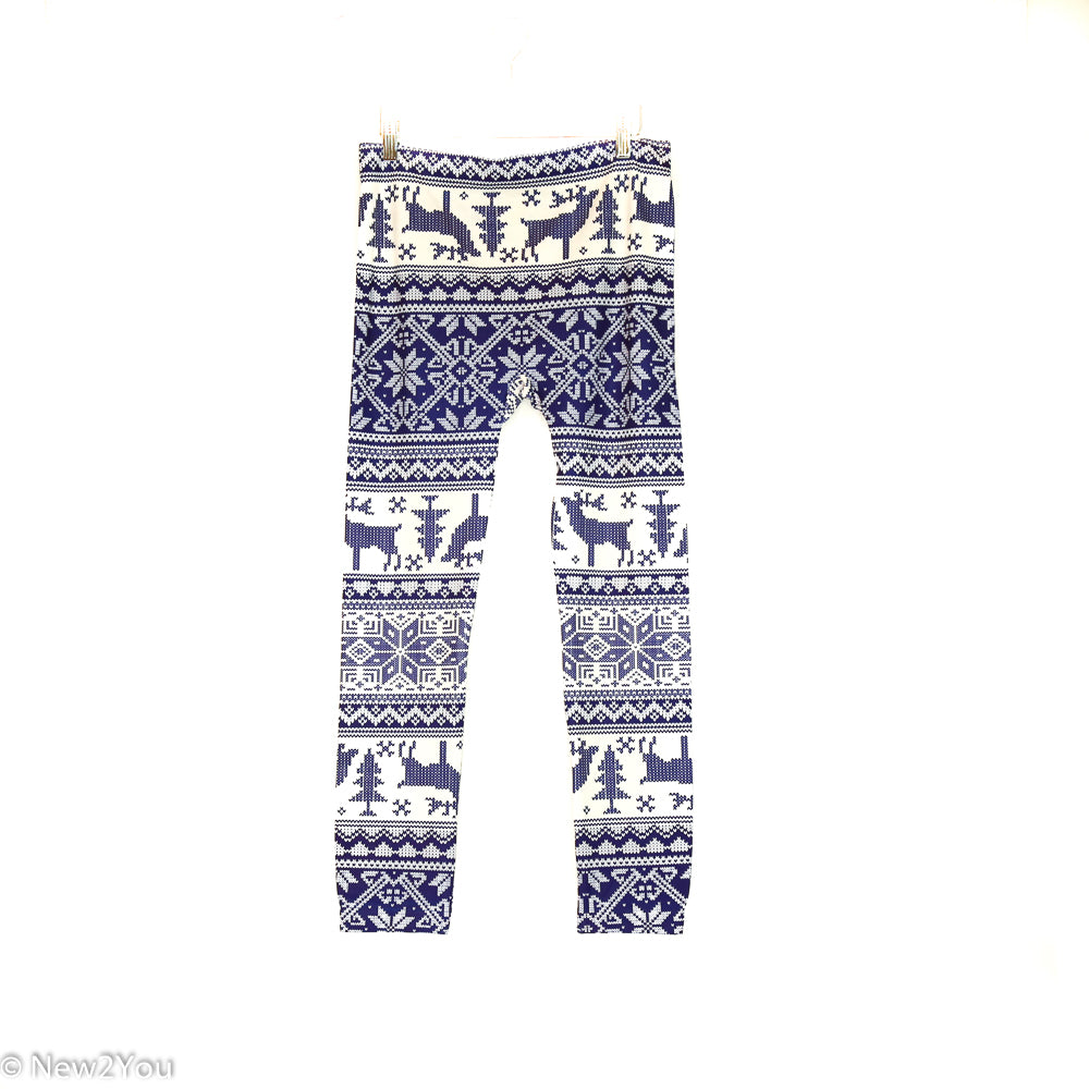 Snowflake Leggings (No Boundaries)