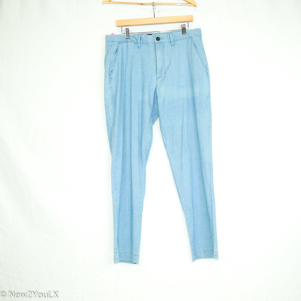 Light Blue Slacks (Gap) - New2Youlx