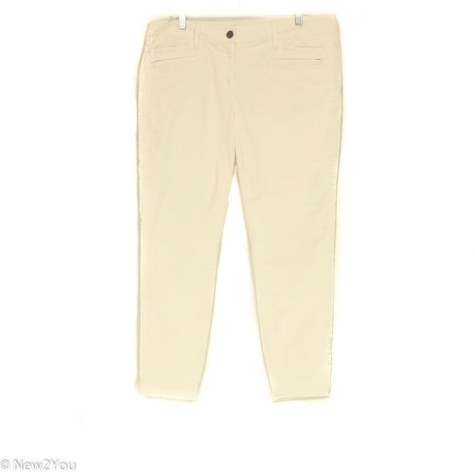 Cream Skinny Jeans (Ann Taylor) - New2You Lx