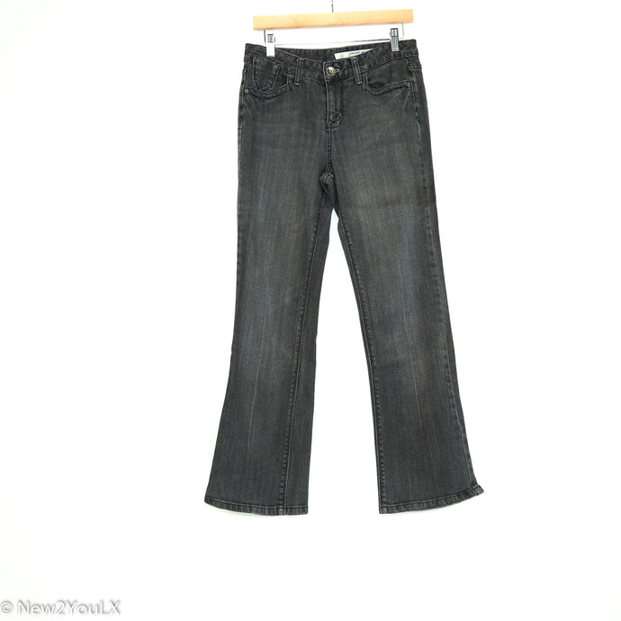 Grey Bootcut Jeans With Pocket Design (Dkny) - New2Youlx