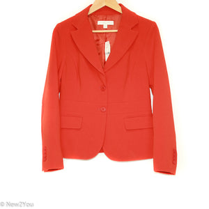 Burnt Orange Blazer (New York & Company) - New2You LX