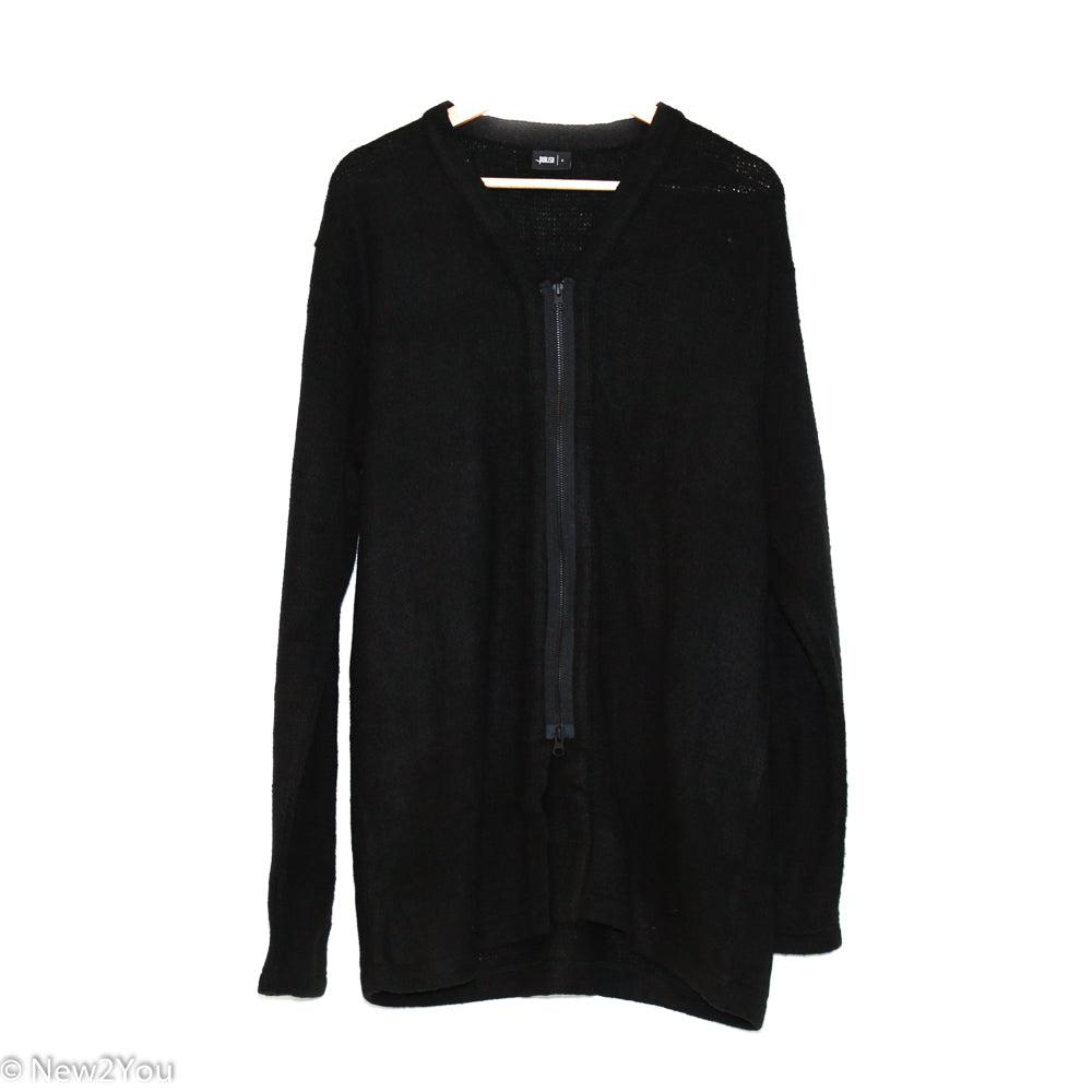 Black Zip-Up Cardigan (Publish) - New2You LX