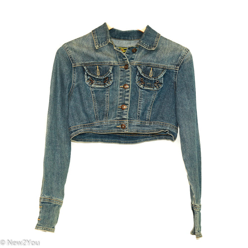 Cropped Denim Jacket (Star Jeans) - New2You LX