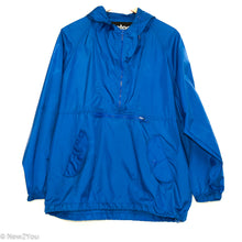 Load image into Gallery viewer, Blue Half-Zip Rain Hoodie (Totes) - New2You LX