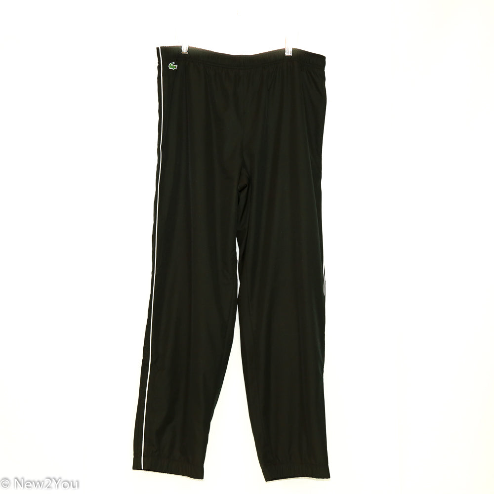 Black Track Pants (Lacoste) - New2You Lx