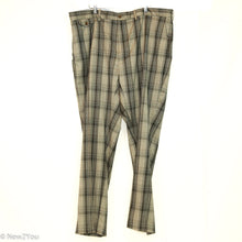 Load image into Gallery viewer, Plaid Grey Golf Slacks (Polo Ralph Lauren)