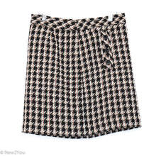 Load image into Gallery viewer, Black & Brown Tweed Skirt (Ann Taylor LOFT) - New2You LX